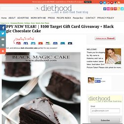 Black Magic Chocolate Cake Recipe