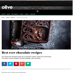 17 Best Ever Chocolate Recipes
