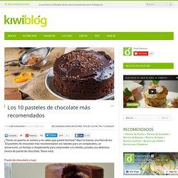Los 10 pasteles de chocolate más recomendados - Recetas de Postres