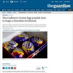 The Cadbury's Creme Egg scandal: how to stage a chocolate revolution