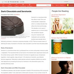 Dark Chocolate And Serotonin