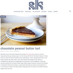 chocolate peanut butter tart – smitten kitchen
