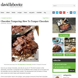 Chocolate Tempering: How To Temper Chocolate