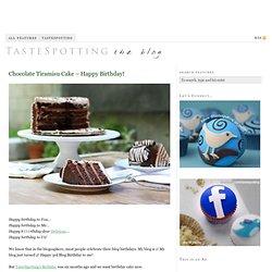 Chocolate Tiramisu Cake – Happy Birthday!
