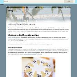 Chocolate truffle cake online