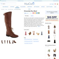 Chocolate Run Boot | Mod Retro Vintage Boots