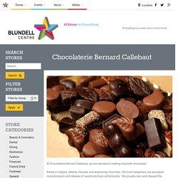 Chocolaterie Bernard Callebaut store in Richmond