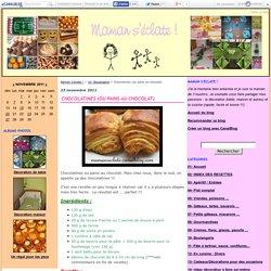 Chocolatines (ou pains au chocolat)
