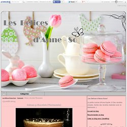 Gâteau 3 chocolats (Thermomix) - Les Délices d'Anne Sooo'
