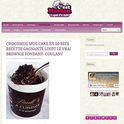 Chocomug muf cake en 50 secs