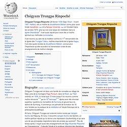 Chögyam Trungpa Rinpoché