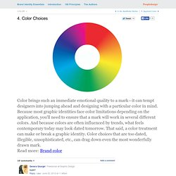 4. Color Choices | Brand Identity Essentials