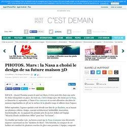 Mars : la Nasa a choisi le design de sa future maison 3D