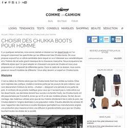 Choisir des Chukka boots pour homme