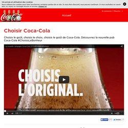 Choisir Coca-Cola