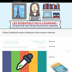 Choisir la palette de couleurs de votre module e-learning