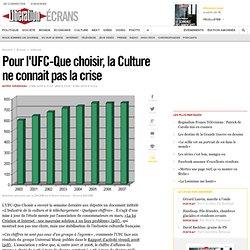 Pour l'UFC-Que choisir, la Culture ne connait pas la crise-