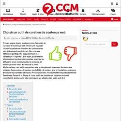 Choisir un outil de curation de contenus web