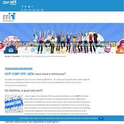 CCP, CQP, CFP comment choisir sa formation diplômante?-M2i Paris, Lille et Lyon
