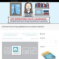 Choisir le style graphique de son module e-learning