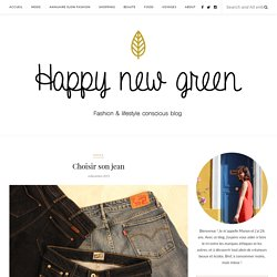 Choisir son jean – Happy new green