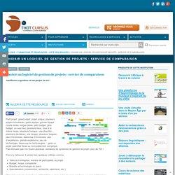 Choisir un logiciel de gestion de projets : service de comparaison