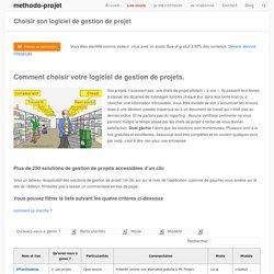 Choisir son logiciel de gestion de projet - methodo-projet