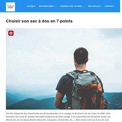 Choisir son sac à dos en 7 points - Direction Le Monde