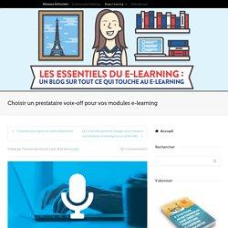 Choisir un prestataire voix-off pour vos modules e-learning
