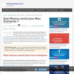▶ Choisir un Réseau social Adapté pour votre Entreprise [Guide Complet]