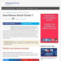 ▶ Choisir son Réseau Social : Le Guide Complet