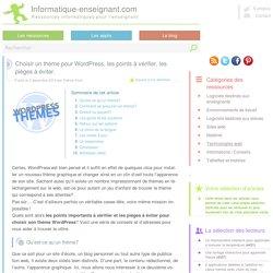 Choisir un thème pour Wordpress