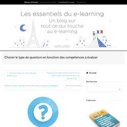 Choisir le type de question pour vos quiz e-learning