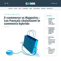 E-commerce vs Magasins : Les Français choisissent le commerce hybride