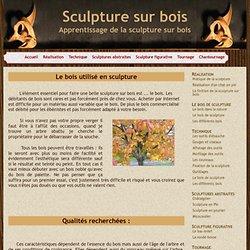 Choix du bois à sculpter