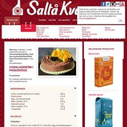 Chokladdröm i påskskrud - Saltå Kvarn