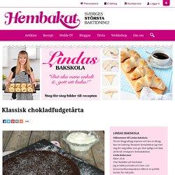 Klassisk chokladfudgetårta