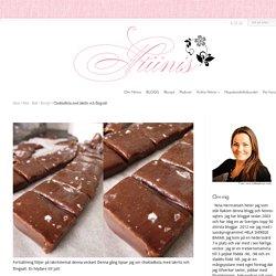 Chokladkola med lakrits och flingsalt