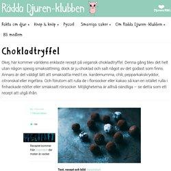 Chokladtryffel – Rädda Djuren-klubben
