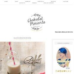 Chokolat Pimienta Recetas de Cocina por Vanessa Hernández: Galletas Crocantes de Avena
