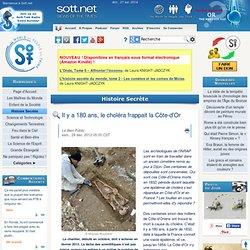 1832-Il y a 180 ans, le choléra frappait la Côte-d'Or