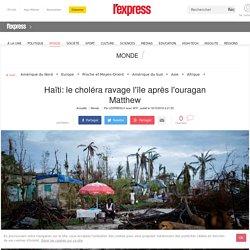 Haïti: le choléra ravage l'île après l'ouragan Matthew