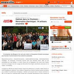 Habitat dans le Choletais : Rénovation thermique: 14 artisans ensemble. Info - Cholet.maville.com