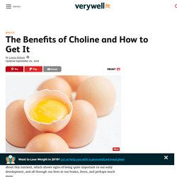 Why Choline Is an Important Nutrient in Your Diet