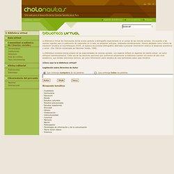 cholonautas - Sitio web para el desarrollo de las Ciencias Sociales en el Perú
