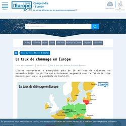 Le taux de chômage en Europe - Emploi & social-Toute l'Europe