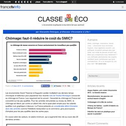 Chômage: faut-il réduire le coût du SMIC?