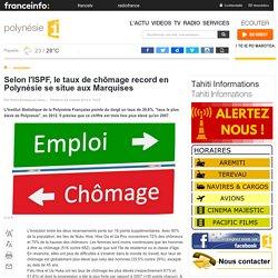 Selon l'ISPF, le taux de chômage record en Polynésie se situe aux Marquises - polynésie 1ère