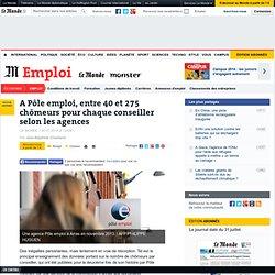 30/07 A Pôle emploi, entre 40 et 275 chômeurs pour chaque conseiller selon les agences