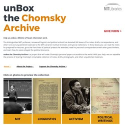 unBox the Chomsky Archive